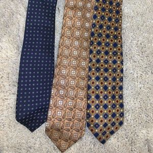 High End Men's European Tie Lot